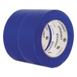 "Universal Premium Blue Masking Tape, 2"" x 60 yd Roll, Blue, 2/Pack (UNVPT14049)"