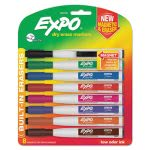 Expo Magnetic Dry Erase Marker, Fine Tip, Assorted, 8/Pack (SAN1944748)