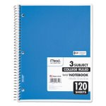 Mead Spiral Notebook, College Rule, 8-1/2 x 11, White, 120 Sheets/Pad (MEA06710)