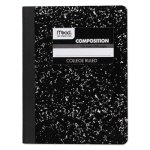 Mead Wireless Composition Book, College Rule, 9-3/4 x 7-1/2, White (MEA09932)