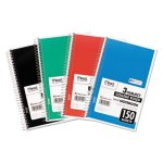 Mead Notebook, College Rule, 6 x 9-1/2, White, 3 Subject 150 Sheets (MEA06900)