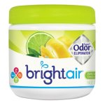 Bright Air Super Odor Eliminator, Zesty Lemon & Lime, 14 oz Jar (BRI900248)