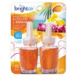Bright Air Scented Oil Refills, Blossom-Papaya, 0.67 oz, 2 Refills (BRI900256PK)