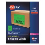 avery-neon-shipping-label-laser-8-1-2-x-11-neon-green-100-box-ave5940