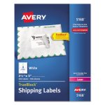 "Avery 5168 White Shipping Labels, 3-1/2"" x 5"", 400 Labels (AVE5168)"
