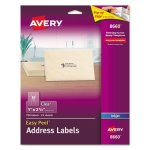 "Avery 8660 Clear Easy Peel Address Labels, 1"" x 2-5/8"", 750 Labels (AVE8660)"