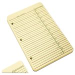 Wilson Jones Looseleaf Phone/Address Book Refill, 80 Sheets (WLJ812R)
