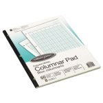 Wilson Jones Accounting Pad, Eight Six-Unit Columns, 50-Sheets (WLJG7208A)