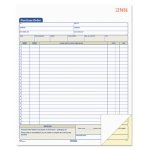 Tops Purchase Order Book, Two-Part Carbonless, 50 Sets (TOP46146)