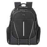 "Solo Active Laptop Backpack, 17.3"", 12 1/2 x 6 x 18 3/4, Black (USLACV7004)"