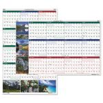 house-of-doolittle-reversibleerasable-2017-wall-calendar-18-x-24-hod3930