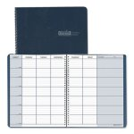 house-of-doolittle-teachers-planner-simulated-leather-11x85-blue-hod50907