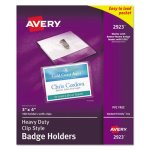 avery-heavy-duty-clip-style-badge-holders-3-x-4-100-holders-ave2923