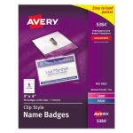 avery-badge-holders-wlaserinkjet-inserts-top-load-3-x-4-40box-ave5384