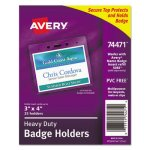 avery-heavy-duty-badge-holders-landscape-clear-25-holders-ave74471
