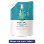 method-gel-hand-wash-refill-34-oz-pouch-waterfall-6-carton-mth01181ct