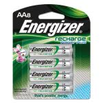 Energizer NiMH Rechargeable Batteries, AA, 8 Batteries/Pack (EVENH15BP8)