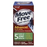 Move Free Move Free Advanced Plus MSM Joint Health Tablet, 120 Count (MOV97008)