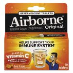 Airborne Immune Support Effervescent Tablet, Orange, 10/Box (ABN30004)