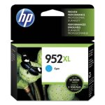 HP 952XL, (L0S61AN) High Yield Cyan Original Ink Cartridge (HEWL0S61AN)