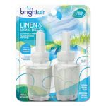 Bright Air  Scented Oil Refills, Linen-Spring, 0.67-oz , 2 Refills (BRI900269PK)
