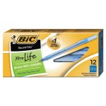 Bic Round Stic Ballpoint Stick Pen, Blue Ink, Medium, Dozen (BICGSM11BE)