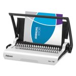 Fellowes Star 150 Manual Comb Binding Machine, White (FEL5006501)