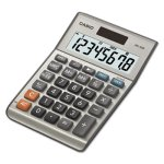 Casio MS-80B Tax and Currency Calculator, 8-Digit LCD (CSOMS80B)
