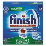 Finish Powerball Dishwasher Detergent Tabs, Fresh Scent, 8 Boxes (RAC81049CT)