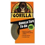 "Gorilla Tape All-Weather Duct Tape, 1"" x 10 yds, Black (GOR6100104)"