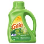 Gain 2X Liquid Laundry Detergent, Original Scent, 6 Bottles (PGC 12784)