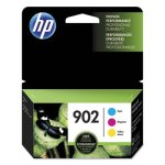HP 902, (T0A38AN) 3-pack Cyan/Magenta/Yellow Original Ink Cartridges (HEWT0A38AN)