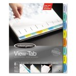 wilson-jones-view-tab-index-dividers-8-tab-square-letter-8-set-wlj55965