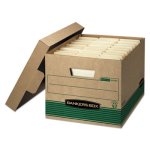 bankers-extra-strength-storage-box-kraft-green-12-count-fel12770