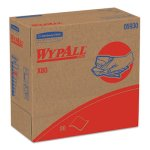 Wypall X80 Shop Towels, HYDROKNIT, 1-PLY, Red, 400 Towels (KCC05930)