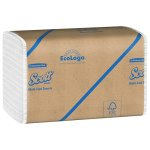 Scott White Multi-Fold Paper Towels, 4,000 Towels (KCC 01804)