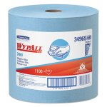 Wypall X60 Wipers Jumbo Roll, Blue, 1,100 Wipers/Roll (KCC34965)