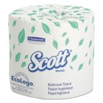 ScottStandard Roll Bathroom Tissue, 2-Ply, 20 Rolls/Carton (KCC13607)