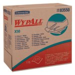 Wypall X50 Cloths, POP-UP , 9 1/10 x 12 1/2, White, 176/Box, 10/Ctn (KCC83550)