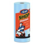 Scott 75130 Shop Roll Towels, DRC, 1-PLY, Blue, 30 Rolls (KCC75130)