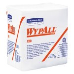 Wypall X80 1/4-Fold Shop Towels, White, 200 Towels (KCC41026)