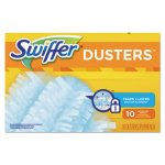 Swiffer Refill Dusters, Dust Lock Fiber, Light Blue, 10 Dusters (PGC21459BX)