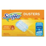 "Swiffer Dusters Starter Kit, Dust Lock Fiber, 6"" Handle, (PGC11804)"