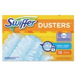 Swiffer Refill Dusters, DustLock Fiber, Light Blue, 40 Refills (PGC21461CT)