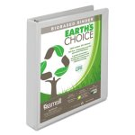 "Samsill Earth's Choice Biodegradable Ring View Binder, 1"" Capacity (SAM18937)"
