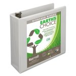 "Samsill Earth's Choice Biodegradable Round Ring Binder, 3"" Cap, Each (SAM18987)"