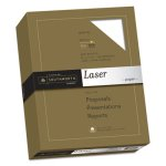 Southworth 25% Cotton Laser Paper, Smooth, 8-1/2 x 11,  500 per Box (SOU3172410)