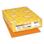 neenah-exact-brights-paper-50-lb-bright-orange-500-sheets-wau26721