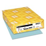 neenah-exact-index-card-stock-110-lb-8-1-2-x-11-blue-250-sheets-wau49521