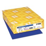 Astrobrights Colored Paper, 8-1/2 x 11, Blast-Off Blue, 500 Sheets (WAU21906)